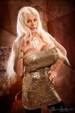 My golden dress