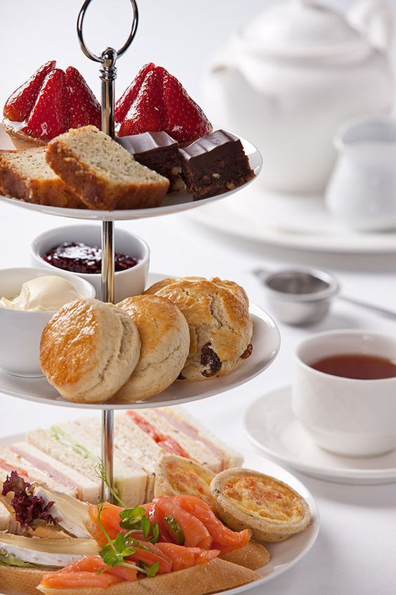 Three tiers of yummy - Esplanade Hotel high tea
