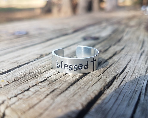 """""""Blessed"""" Ring"""