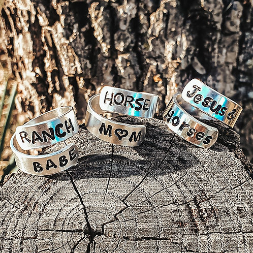 Custom Wrap Around Ring