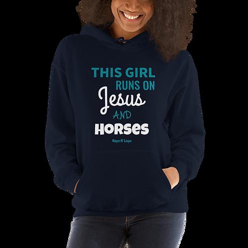 """""""Jesus & Horses"""" Hoodie"""