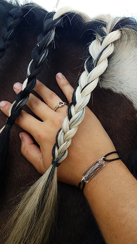 Narrow Horse Hair Bracelet
