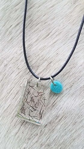 Rectangle Necklace
