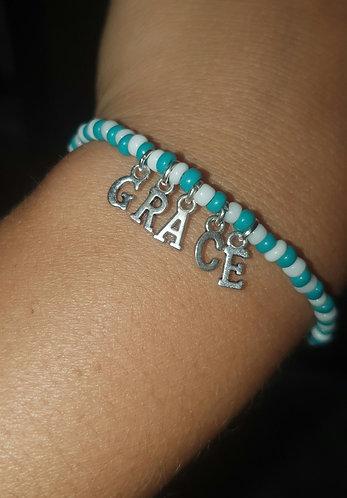 Beaded Bracelet w/ Custom Words