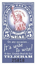 Telegram stamp