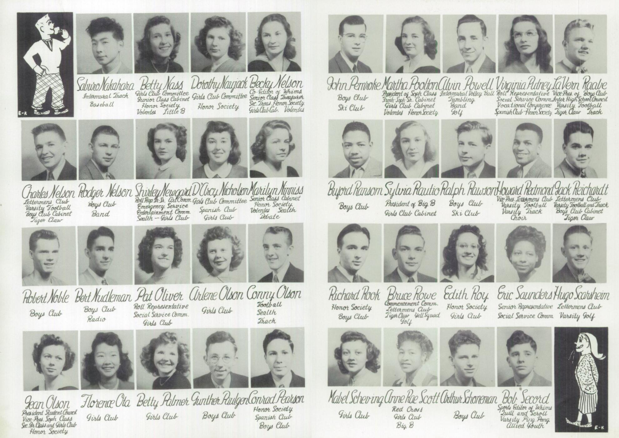1946 Broadway High School Yearbook - Senior Portraits - 4