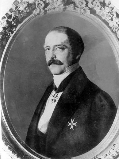 Otto Von Bismarck. Circa 1862. Image: Hamburg.de