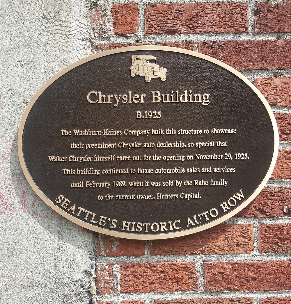 Hunters Capital's plaque
