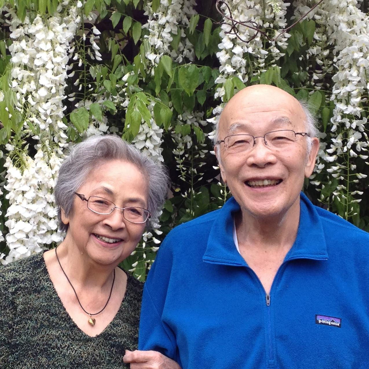 A recent photo of Setsu and Kazuo Tanemura.  Image: Evergreen Washelli