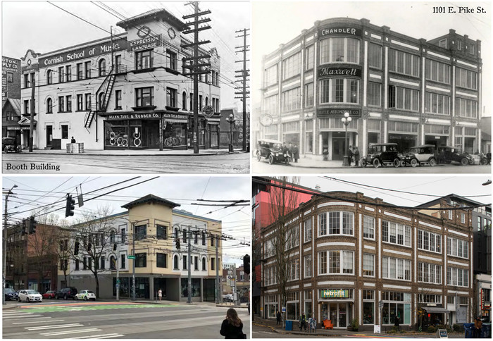 1101 E Pike St And Booth Building To Be Nominated For Landmark Status