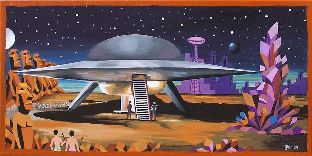 Painting by Linda Tillman