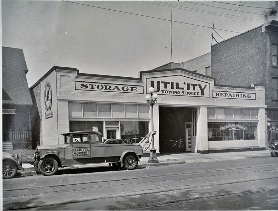 1827 Broadway circa 1937. Washington State Archives.