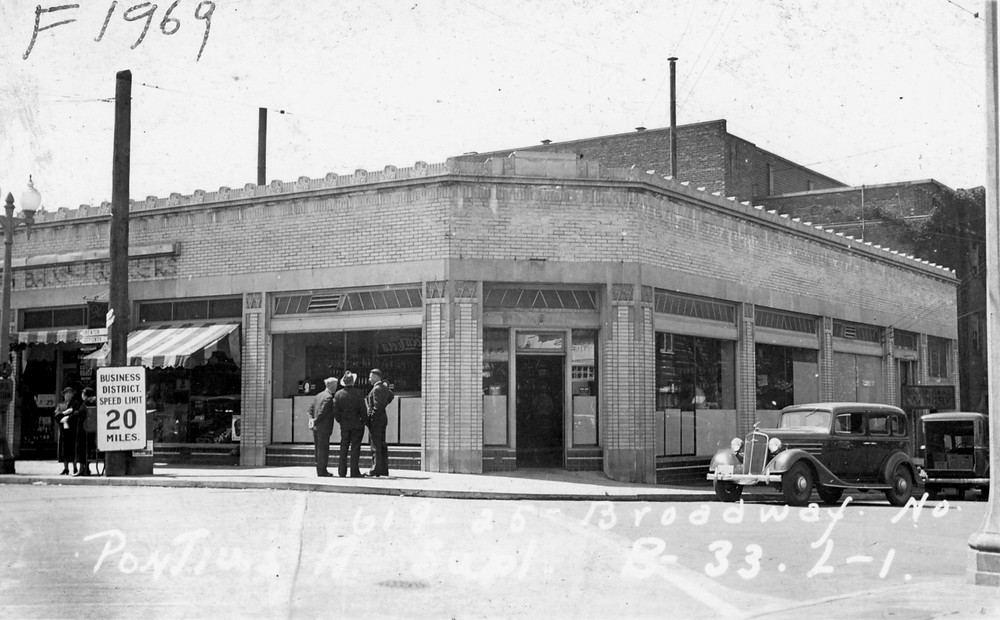 919-925 Broadway N circa 1938. Image: WA State Archives