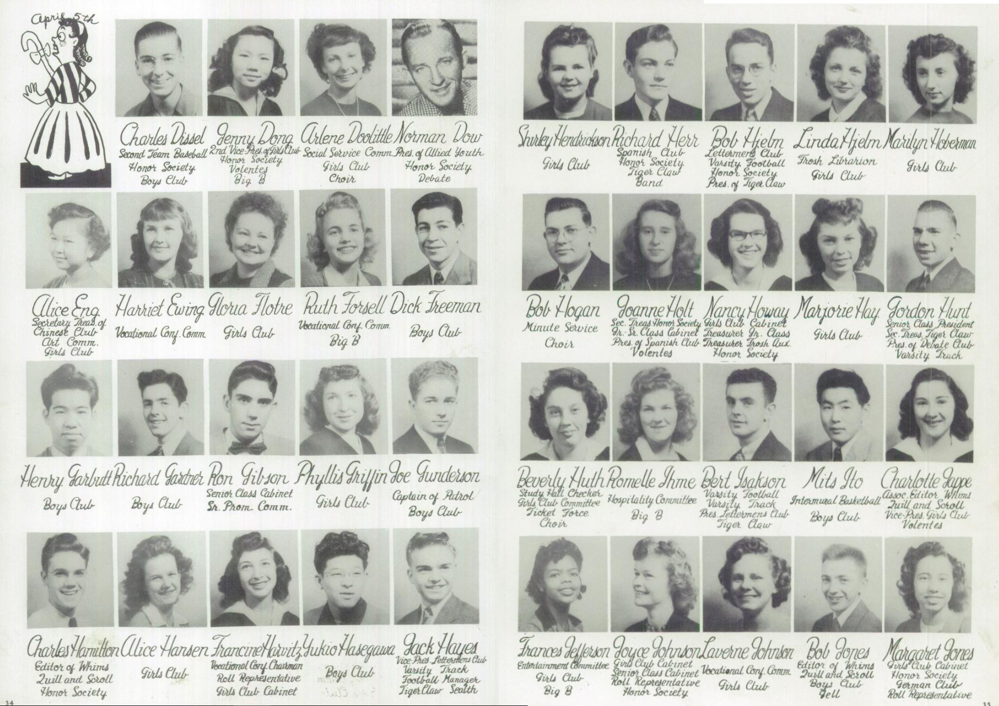 1946 Broadway High School Yearbook - Senior Portraits - 2