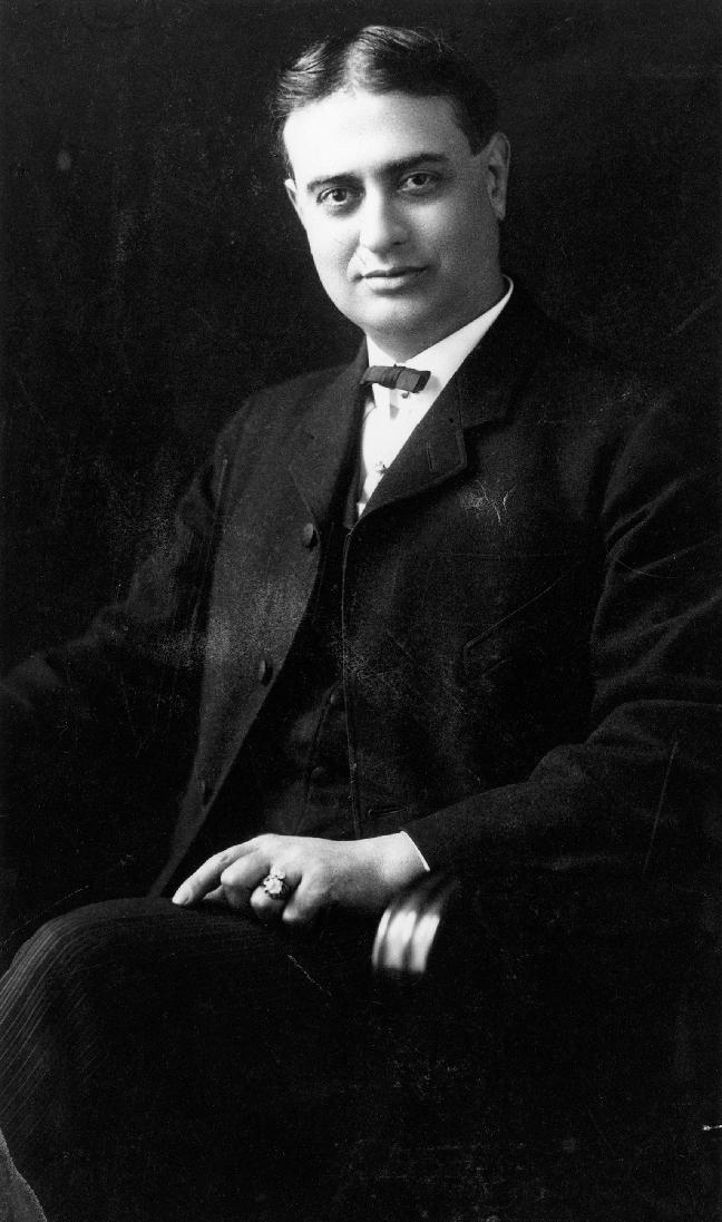 Alexander Pantages, circa 1910 Image: University of Washington