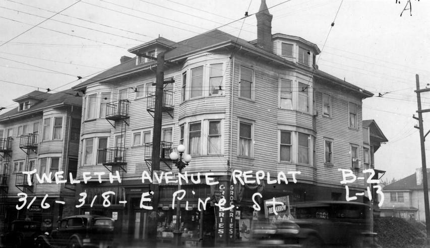 Beryl Apts, c1937. WA State Archives