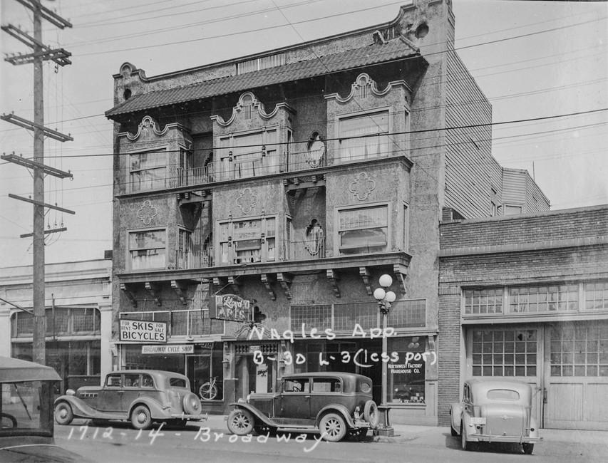 1714 Broadway circa 1937