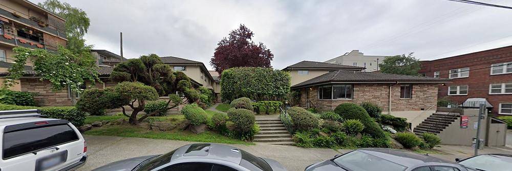 Camellia Manor, 501 E Harrison St. Google, 2019
