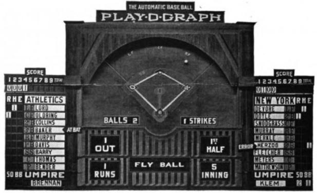 Playograph, via wikipedia.