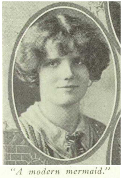 1925 BHS Yearbook - Madeline Pless, a mo
