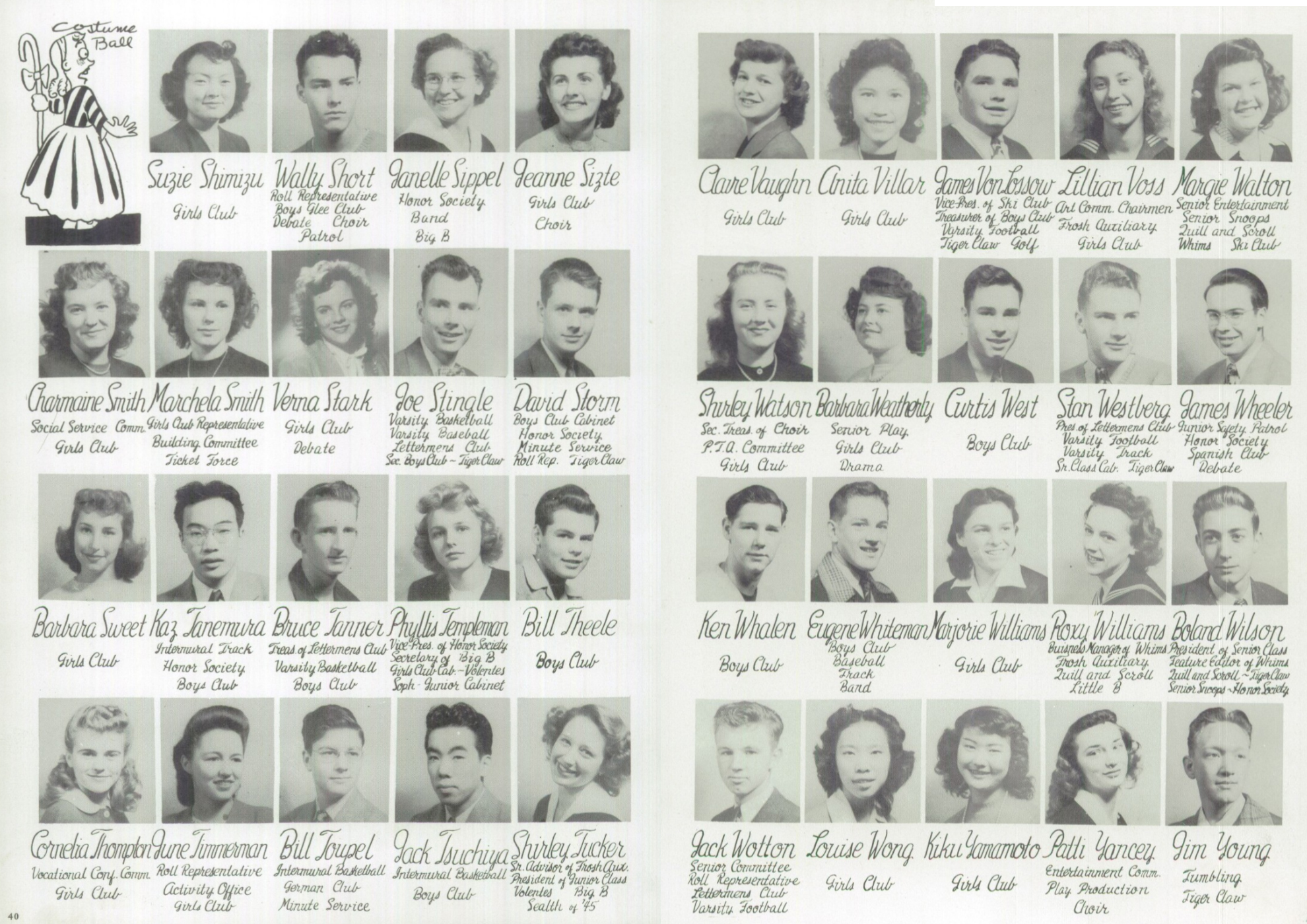 1946 Broadway High School Yearbook - Senior Portraits - 5