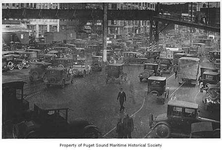 Seattle Traffic Jam circa 1925.
