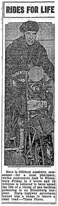Seattle Times, Nov 10, 1929.