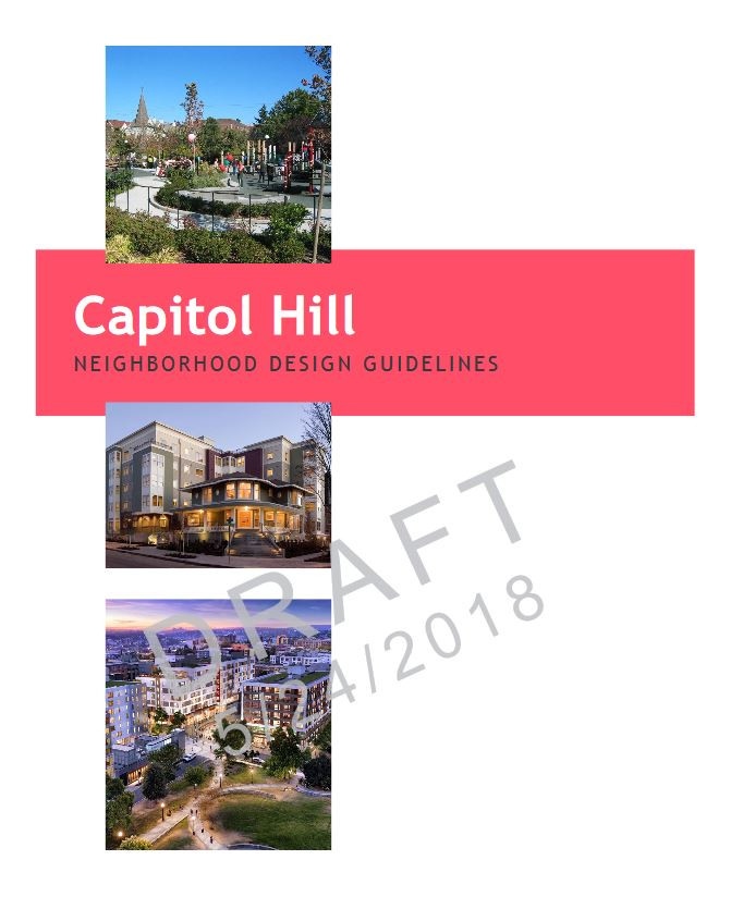 What's missing from the city's draft of proposed updates to Capitol Hill's Design Guidel