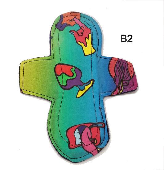 Butt Plug -stan- moderate washable reusable menstrual clothpad B2
