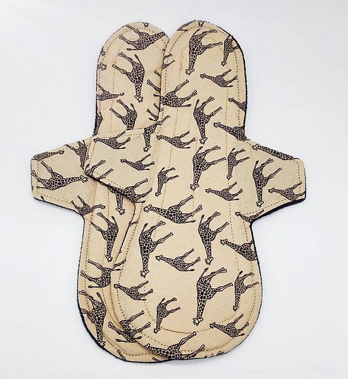 Giraffe overnight heavy long reusable menstrual period cloth pad