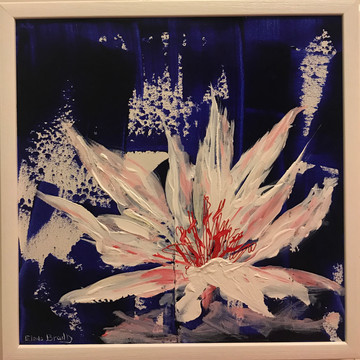 WHITE ORCHID 44x44