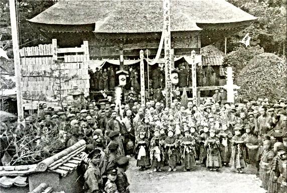 大正五年の観音寺