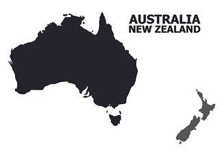 flat-map-australia-and-new-zealand-marke