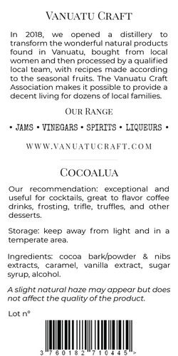 VCA Spirits & Others New_50cL CocoaLua V