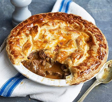 Nothing beats a classic homemade steak pie, complete with golden-brown flaky (or short) pastry and a rich filling.