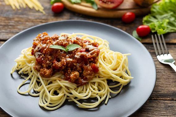 Really simple Spaghetti Bolognese