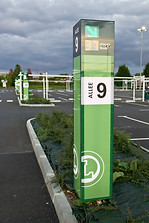 Guidage dynamique parking