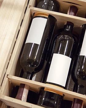 Caisse de vin