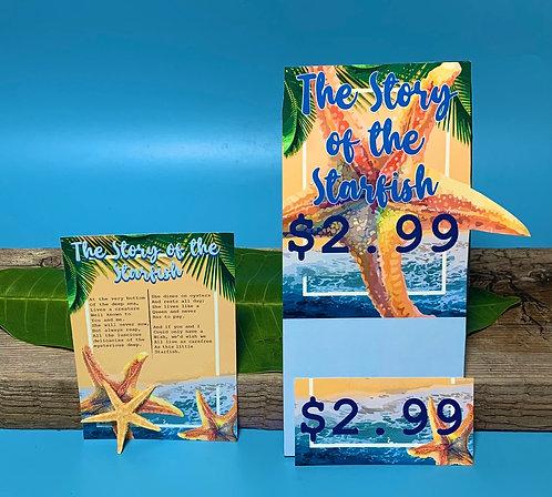 Starfish Story Postcard (100 pcs)