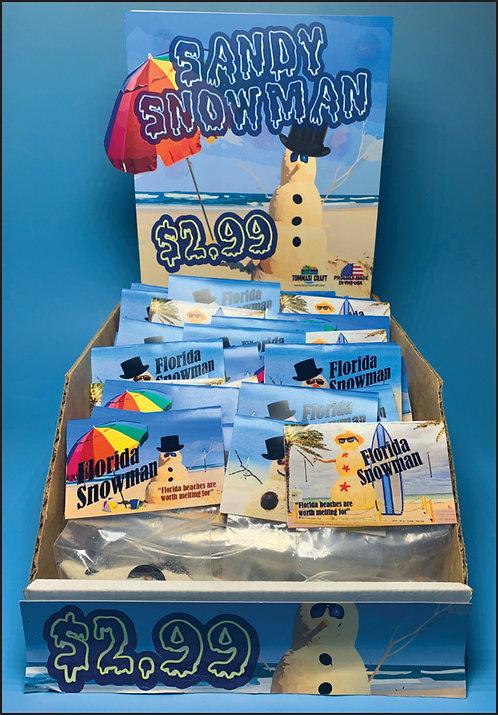 "Sandy ""Melted"" Snowman Bags (100 pcs)"