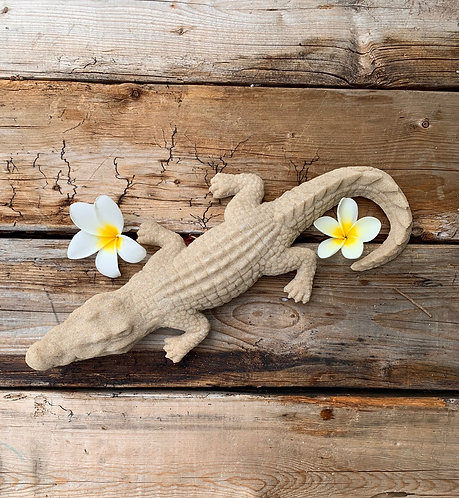 Gator Sculpture