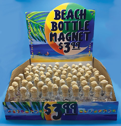Bottle Magnets with Display (81 pcs)