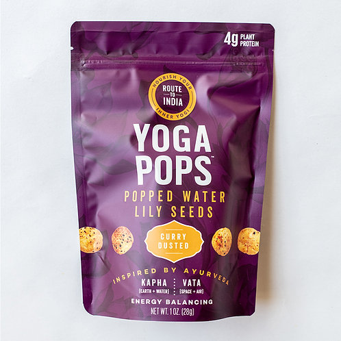 Yoga Pops Curry Dusted (1oz)