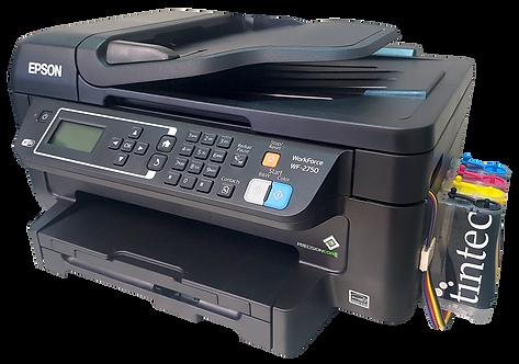 Multifuncional Epson WF2750 con Sistema de Tinta Continua