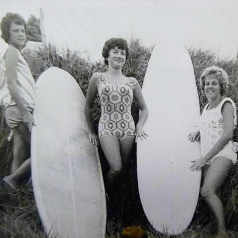 Raewyn St George, Joan Paton, Trish Dwyer..