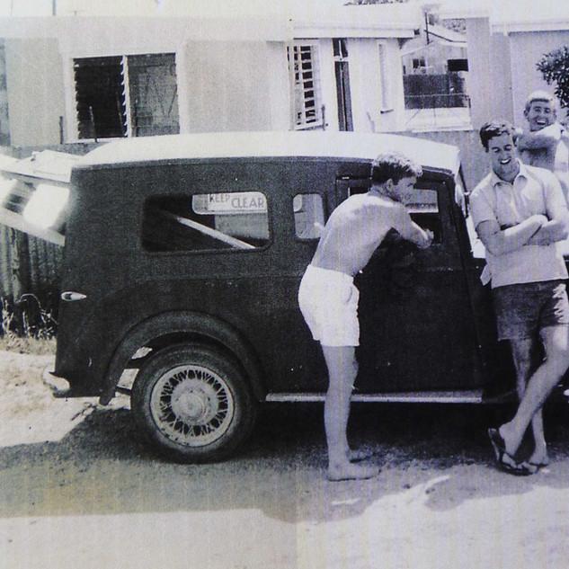 Ray Greenaway, Scruffy Dunn & Tommo.