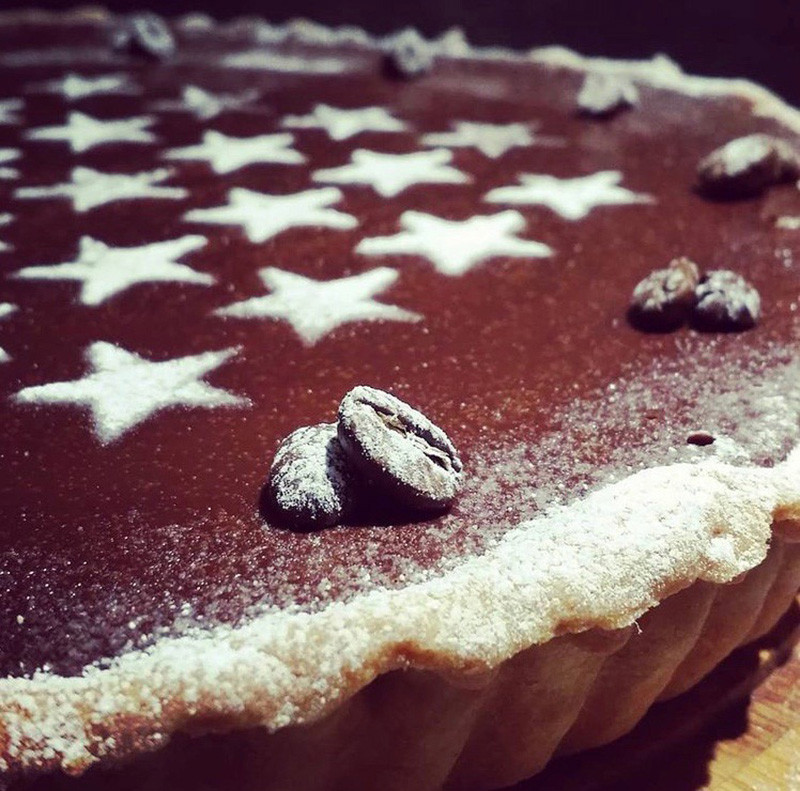 Espresso Martini Chocolate Tart