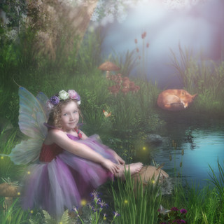 fairy in glade