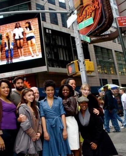 Times Square Jumbotron 'Innocent Flesh' Theatre Run