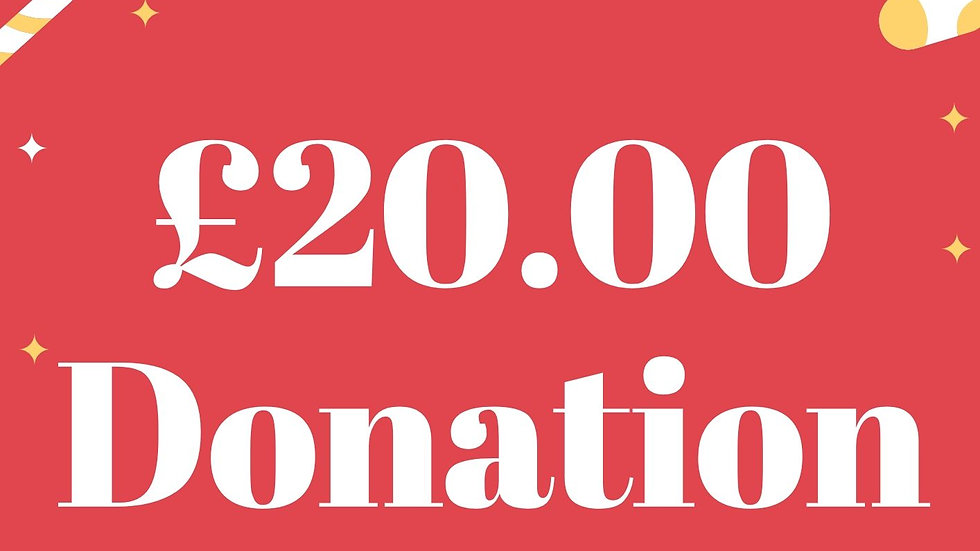 £20 pound  Donation